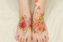 Tatouages fleurs