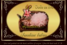 REBORN DOLLS - DOLLS AS LIVE / MADE WITH LOVE FOR LOVE ALL :)
