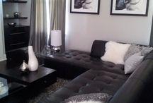 Grey interiors - THE LONDON LOOK -