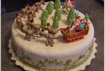 Mes réalisations de Noël / ici, vous trouverez les photos de mes réalisations autour du thème de Noël : gâteaux, cake pops, cupcakes...