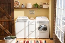 laundry/mudroom  / by Stacy Walden