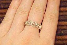 Jonc avec petites anneaux