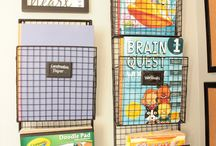 Homeschool Room Decor/Storage