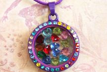 Little Locket Lady Memory Lockets / This is a board where I'll be posting my lockets, charms, back plates, dangle clips, European style bracelets, beads, and charms that I have for sale in my Etsy shop