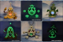 Polymer Clay LED Color Changing / FuzzyKims©, BubbleBellyBots© and all other Designs are COPYRIGHTED by Kimmie's Clay Kreations®, 2017. All images, rights, colors, designs, concept, and intellectual property belong solely to the owner of Kimmie's Clay Kreations.