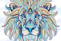 Mandala animals