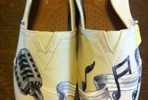 Art on shoes