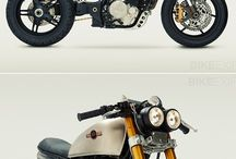 Cafe racers and old bikes / motorcycle cafe racers old school