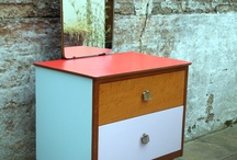 Commode 60's design / Only commode on a thin legs.