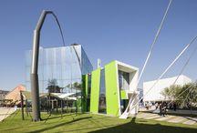 Padiglione Moldavia - Expo 2015 / Ancoraggi delle strutture metalliche con Mapefill