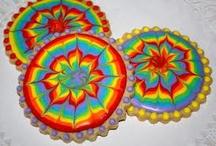 Sugar cookies/ tie dye