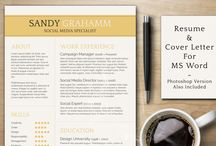 Resumes and Vita Templates and Ideas