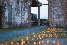 Candlelit weddings
