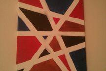 canvas painting / DIY canvas art