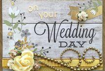 Wedding handmade cards