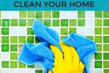 Cleaning Hacks / Looking for great (green) cleaning hacks to make your life and home better. Some super fun ideas to implement today.