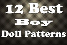 Boy doll patterns and clothes / by Lea Bailey