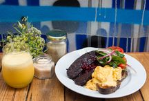 Perfect Brunches / Quick, and easy brunch ideas; and the best brunch locations, reviews, places, settings, and colours. 'Brunch' is just about my favourite activity