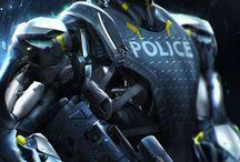 Heroes/Spiderman/Batman/Robocop/Sci-fi