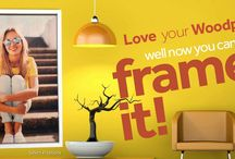 Frame your Woodic! / Check out Woodpic's great new framing options.