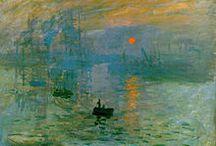 Impressionismo / Ripercorrere la nascita dell'impressionismo per arrivare agli artisti più conosciuti nella storia dell'arte di questa corrente artistica : Monet, Manet, Degas, Renoir.