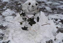 My Insta photos Csak ilyen picire futotta a hóból ⛄❄☃ #hóember #snowman #firstsnow