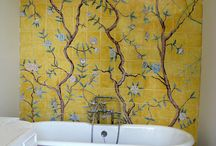 Oriental bathrooms / Ideas on how to bring oriental charm to your bathroom interiors.