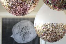 glitter birthday party