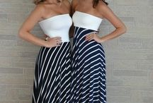 pruhované sukně