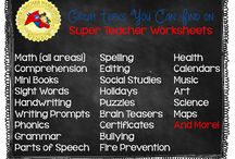 Blogosphere / Images from blogs and other websites / by Super Teacher Worksheets