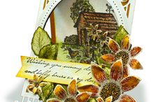 Classic Sunflower Collection / A masterpiece designed with the warmth of home. Hand drawn designs with intricate detail that captures the tranquility of the safe haven that home is. A stunning collection of sunflowers, scenery and butterflies.