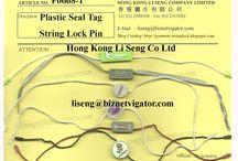 Your Own Brand Hang Tag String Lock / Make your Own Trademark Metal Mould Plastic Hang Tag String Lock Factory - Profession http://hangtagstringlock.weebly Hong Kong Li Seng Co Ltd