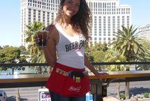 Budweiser Beer Park at Paris Las Vegas / March Madness 2016 at Beer Park at Paris.