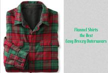 Spring is Here With the Best Flannel Shirts, Easy Breezy Outerwears and More