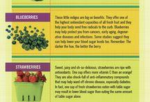 Veggie & Fruit tips and info.