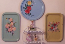 Vintage Trays / by Karen Fitz