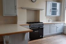 Used John Lewis of Hungerford Artisan Shaker Painted Kitchen