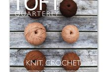 TOFT Quarterly / A new and exciting quarterly magazine from TOFT, packed full of patterns, articles, competitions and more…