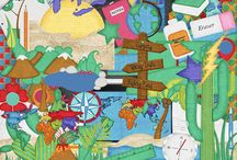 School Daze-Geography Digital Kit / by Touched By A Butterfly