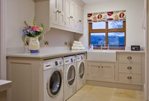 Utility & Laundry Rooms  / In addition to kitchens, Simpsons has created beautiful bespoke utility and laundry rooms. All designed to be beautiful and practical