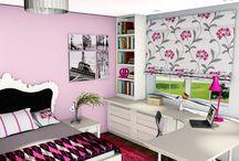 Lányos szobák