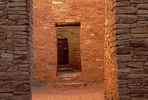 Ancient Dwellings / Entryways, windows and plans of ancient dwellings.