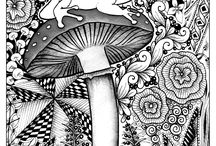 Jungle & Forest coloring pages / Travel in jungle and forest with our many coloring pages. See more --> http://www.coloring-pages-adults.com/jungle-forest/