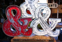 Ampersands everywhere! / There's something special about an ampersand: how easily it brings together two apparently disparate parts and makes them whole. Love ampersands as much as we do? Follow this board and we will send you an invite to join in the fun!