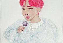 Moon Yoonji artworks