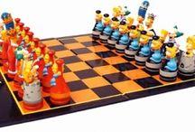 schaakspel / Het schaakspel is eeuwenoud en is er in vele soorten en maten. De mooiste en meest bijzondere vind je hier.