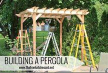 Pergola bouwen