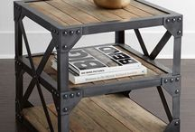 Industrial Style Furniture & Decor / Industrial style furniture & decor Ideas for home, hospitality or office.
