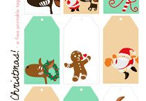 Christmas Freebies & Printables / Here are the latest Christmas freebies including printables such as tags, advent calendars, colouring pages, to do lists, santa letters and so on.