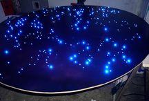 Deckenbeleuchtung Sternenhimmel